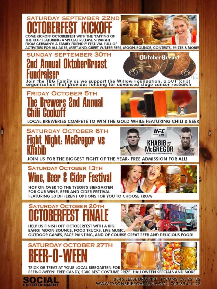 Oktoberfest 2018 Preview